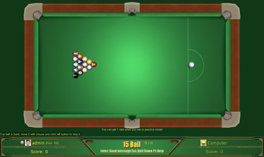 popgamebox 3d billiards 1.2