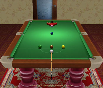 3D Snooker Online Games screen shot