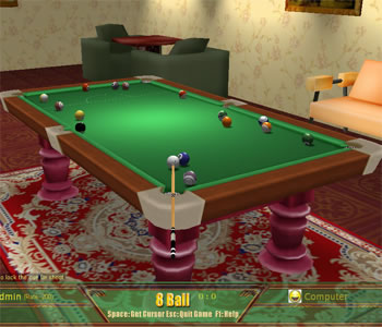 3D Pool & Snooker Online full screenshot
